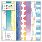 Papierblock - Capsule Collection - Elements Pigment - 12