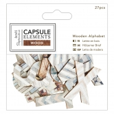 Alphabet Aus Holz - Capsule Collection - Elements Wood - 27 Stück