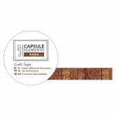 Washi Tape - Holzoptik Bastelklebeband Holzverkleidungen - Capsule Collection - Elements Wood