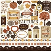 "Reflections Fall Element Sticker - 12""x12"" Sticker Sheet"