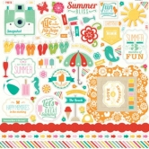 "Summer Bliss Element Sticker - 12""x12"" Sticker Sheet"