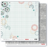 "Scrapbooking Papier Doppelseitig 12""*12"", Adventure Awaits, Find Your Way"