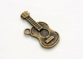 Metal charms set GUITAR 10 Stück
