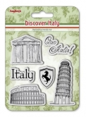 Set of stamps 10,5*10,5cm Discover Italy. Italy