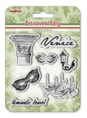 Set of stamps 10,5*10,5cm Discover Italy. Menu