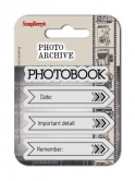 Set of clear rubber stamps 7*7 cm Photo Archive No. 2
