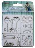 Holiday Romance Chipboard Elements No. 6