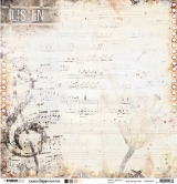 Designpapier zweiseitig, Ultimate Scrap Collection - Music