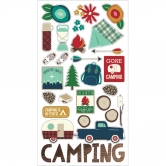 "Simple Stories - Cabin Fever - 6x12"" Chipboard Sticker"