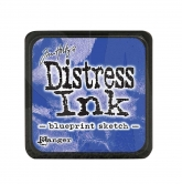 Tim Holtz distress ink mini - blueprint sketch
