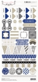 Urban Market Decorative Stickers 6x12