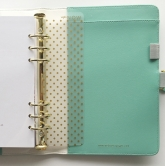 Webster´s Pages Planner Inserts - Bookmark Lesezeichen Right now - A5