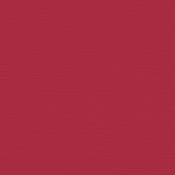 My Colors Cardstock Canvas Red Cherry