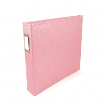 "We R Memory Keepers - faux leather album 12x12"" pretty pink"