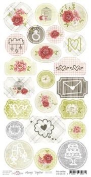 Die-Cuts Always Together, pre-cut paper sheet