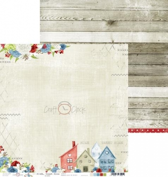 "Double-sided paper 12""*12"" Home Sweet Home - 01"