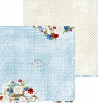 """Double-sided paper 12""""*12"""" Home Sweet Home - 02"""