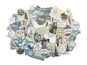 Kaisercraft Collectables Die Cuts Frosted