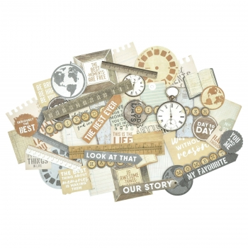 Kaisercraft Collectables Die Cuts Documented, 50 pcs