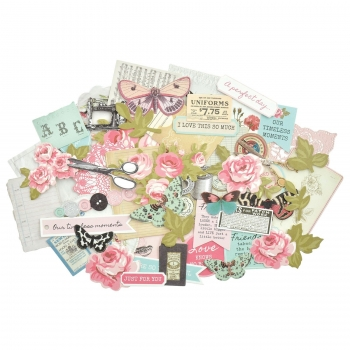 Kaisercraft Collectables Die Cuts Miss Betty, 58 pcs