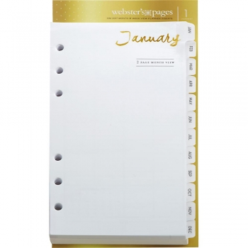 Webster´s Pages Planner Month Insert - A5