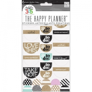 Me & My Big Ideas - Create 365 The Happy Planner - Sticker - Love This Neutral