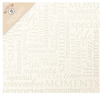 Scrapbooking Album Memories Cream 30,5x30,5