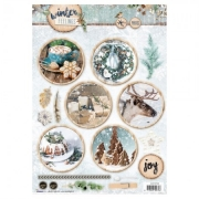 Designpapier gestanzt Winter FEELINGS 61