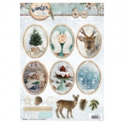 Designpapier gestanzt Winter FEELINGS 62