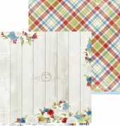 """Double-sided paper 12""""*12"""" Home Sweet Home - 03"""