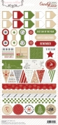 Candy Cane Lane: 6x12 Decorative Stickers