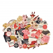 Kaisercraft Collectables Die Cuts Hanami Garden, 50 pcs