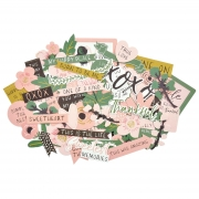 Kaisercraft Collectables Die Cuts Fleur, 54 pcs