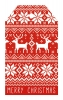 Kaisercraft mix & match tag pack christmas