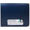"""We R Memory Keepers - faux leather album 12x12"""" cobalt"""