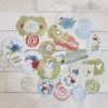 Die-Cuts Home Sweet Home, pre-cut paper sheet
