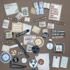 "Paper-Hobby Scrapbook-Kit ""Just like this""-Compilation"