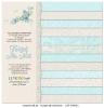 Papierblock - Paper Collection Set 12x12 - Basic - Forget Me Not - 12 double-sided sheets