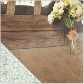 Scrapbooking Papier Doppelseitig Wedding Day I