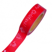 Washi Tape - Efco Creative Tape, Merry Christmas, rot
