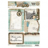 Designpapier gestanzt, Winter Memories 64