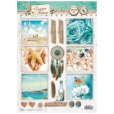 Designpapier gestanzt, Summer Feelings 65