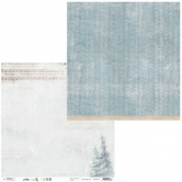 Designpapier zweiseitig, Winter FEELINGS 04, 30,5 x 30,5 cm, 200 g/m²