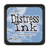 Tim Holtz distress ink mini - stormy sky