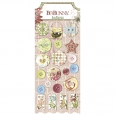 Buttons BoBunny - Garden Journal