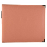 "We R Memory Keepers - faux leather album 12x12"" coral"