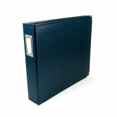 "We R Memory Keepers - faux leather album 12x12"" navy"