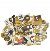 Kaisercraft Collectables Die Cuts Pawfect dog