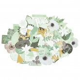 Kaisercraft Collectables Die Cuts Mint Wishes, 50 pcs