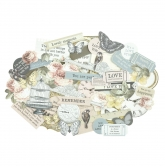 Kaisercraft Collectables Die Cuts Romantique, 54 pcs